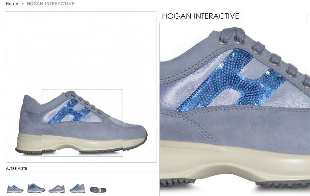 Le scarpe Hogan donna  chiffon e velluto protagonistiFratinardi 30d6dad5023