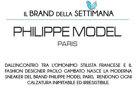 brand della settimana philippe model