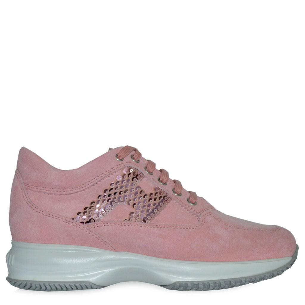 scarpe hogan donna rosa
