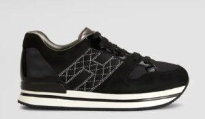 Hogan Maxi H222 realizzata in pelle con dettagli metallizzati è la sneaker  glamour per eccellenza. Scopri di più online. ebf723a23ff