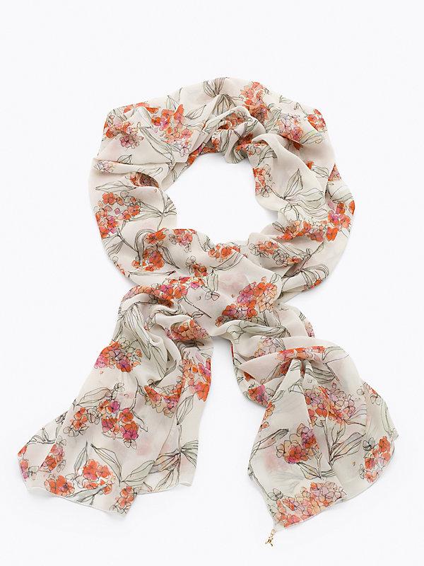 Patrizia pepe foulard in georgette