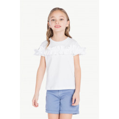 TWINSET T-SHIRT RUCHES