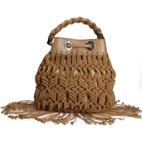 LA CARRIE BAG FRINGE BUCKET BAG