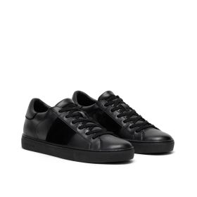 retro CRIME LONDON LOW TOP ESSENTIAL SNEAKERS