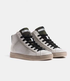 CRIME LONDON HIGH TOP ESSENTIAL SNEAKERS