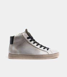 retro CRIME LONDON HIGH TOP ESSENTIAL SNEAKERS
