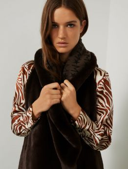 MARELLA GILET DOUBLE-FACE BIRD