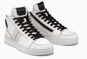 CRIME LONDON SNEAKERS MID TOP OFF COURSE