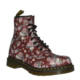 retro DR. MARTENS ANFIBI VINTAGE ROSE SOFTY