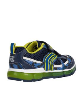 retro GEOX JR ANDROID BOY SNEAKERS