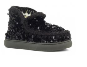 MOU SUMMER ESKIMO SEQUINS TONE ON TONE SNEAKERS