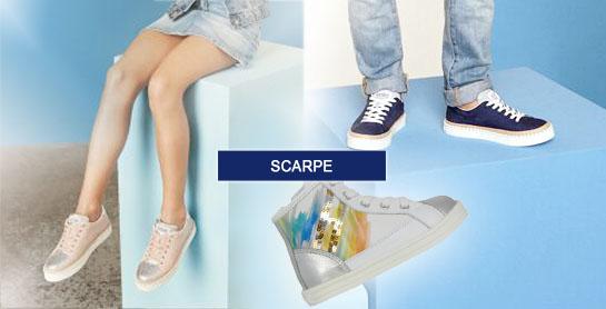 scarpe bambino e bambina
