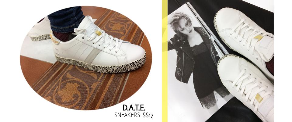 date sneakers nuova collezione primavera estate 2017
